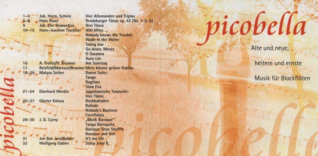 CD zum 10 jährigen Jubiläum