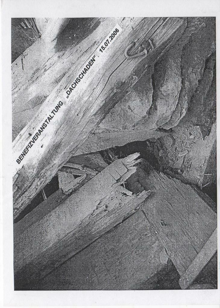 """""""Dachschaden"""" zugunsten der Dachreparatur"""