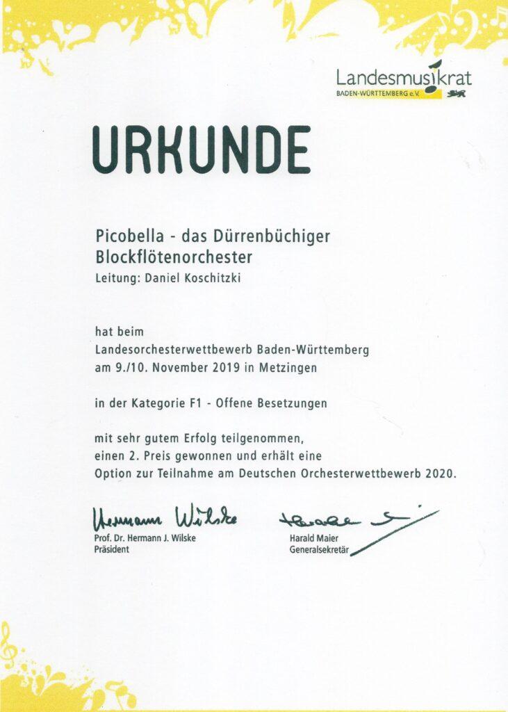 Landesorchesterwettbewerb