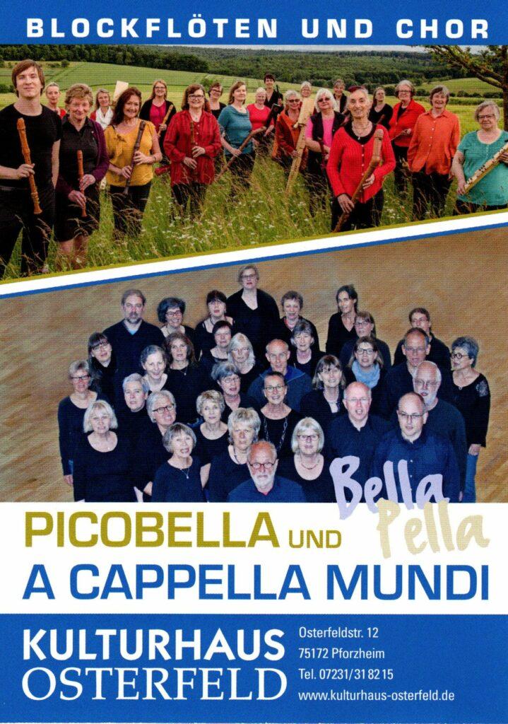 a capella mundi und picobella